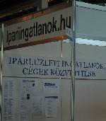 Ipariingatlanok.hu az Industria 2005 kiállításon